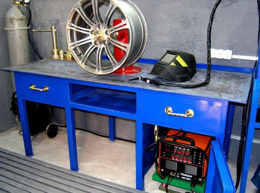Ремонт и реставрация автомобильных дисков