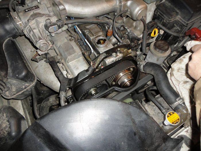 Устранение утечки масла из мотора